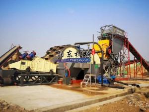 水冲式制砂生产线
