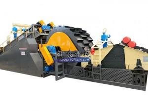 螺旋轮式洗砂脱水回收一体机